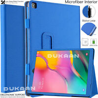 For Samsung Galaxy Tab A 10.1 (2019) Case Leather Folio Stand Cover SM-T510 T515