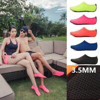 Unisex  Barefoot Water Skin Shoes Swim Socks for Beach Swim Surf Yoga Exercise