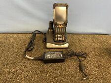 Symbol Motorola Mc9190 Scanner And Charging Cradle Crd9000 With 2 Batteries