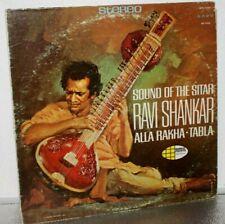 Ravi Shankar - Alla Rakha 'Sound of the Sitar' 33RPM LP Stereo Record. 1967