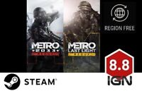 Metro Redux Bundle [PC] Steam Download Key - FAST DELIVERY
