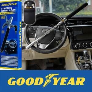 Goodyear Elite Heavy Duty Steering Wheel Lock with 2 Keys Plus RFID Car Fob