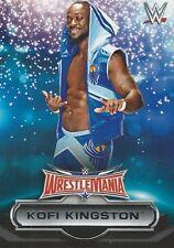Kofi Kingston WWE Road To Wrestlemania 2016 Trading Card 22 Of 30 The New Day