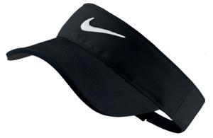 Nike Tech Tour Golf Visor, Black and White