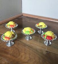 OOAK Barbie Furniture 1:6 Scale Fruit Dish Food  Accessories Diorama