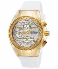 TechnoMarine Cruise Glitz Women's 40mm Chronograph Watch TM-115384 White/Gold