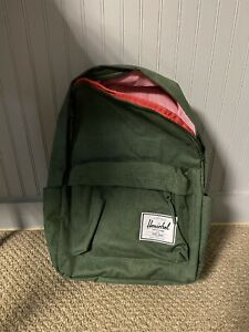 HERSCHEL SUPPLY CO. Classic Backpack In Greener Pastures Crosshatch Unisex NEW!