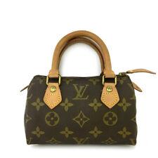 Louis Vuitton Monogram Mini Speedy Hand bag /B0386