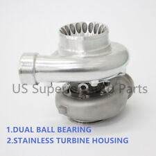 Dual Ceramic Ball Bearing Turbo GT35 GTX3582R Stainless Turbine Housing.82 Vband