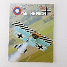 Over the Front Magazine Winter 2003 Volume 18 Number 4 Aviation World War I