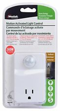 Light Control Motion Activated Detector Sensor Electrical Plug-In Home Indoor
