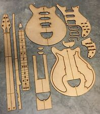 Guitar Building Templates Brian May Red Special 80's