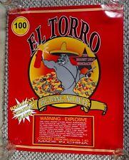 El Torro Fireworks Promo Poster 4th of July Firecracker Promotional
