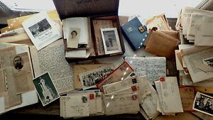 CIRCA 1920-1935 HANDWRITTEN ARCHIVE MISSIONARY INDIA PAKISTAN MASSIVE 500 PC