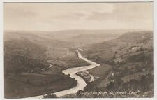 Yorkshire (North) postcard - Swaledale from Willance's Leap