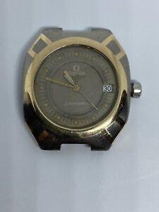 Omega Polaris  titanium and gold quartz working condition head only