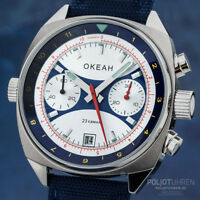 Okean Poljot Chronograph Russian Watch miltär Poljot 3133 Ocean 3133/1981599