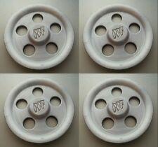 Set 4 92-99 Buick LeSabre Park Avenue OEM Machine Wheel Center Caps 9592813 BU45