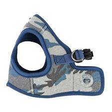 Puppia - Dog Puppy Harness Soft Vest - Ensign - Blue Camo - S,  XL