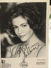 Alyssa Milano ~ 4x6 Autographed Photo~ Charmed ~ Reprint