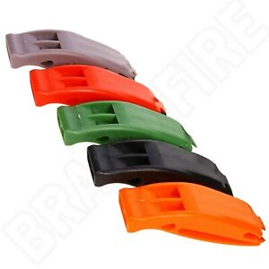 Emergency Distress Whistle - Dual Frequecy High Decibel - Survival Signal Float