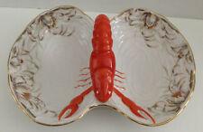 Vintage Germany Divided Lobster Bowl Dish