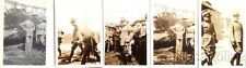 § AVIAZIONE:5 PICCOLE FOTO E 3 NEGATIVI - S. E. Gazzera in visita a Capodichino