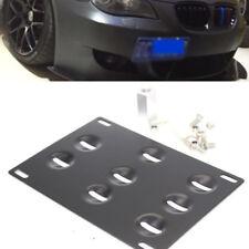 Bumper Tow Hook License Plate Mount Bracket For BMW 1 3 5 Series M3 X5 X6 Z4