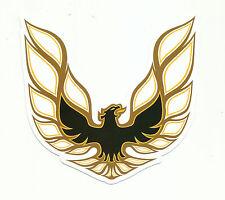 """Sticker Aufkleber Car-Styling Phönix Emblem """"Firebird"""" Matt-Optik"""