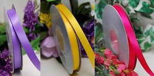 5m Satinband 10 mm breit doppelseitig (0,45€/m)