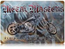 Motorcycle Biker Chopper Metal Sign Man Cave Garage Club Shop Legend Wear LWT009