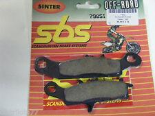 Plaquettes  Frein avant droit  SBS 798 SI KVF 650  700  KFX 450  700