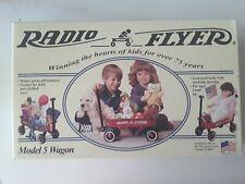 Vintage Radio Flyer Wagon Small Model 5 in Original Box