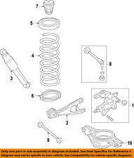 HONDA OEM 11-16 Odyssey Rear-Shock Absorber or Strut 52610TK8A11