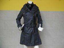 KHUJO joli manteau plein d ' assymétrie taille S