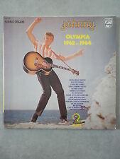 Johnny Hallyday double 33Tours vinyles Olympia 1962 et 1964
