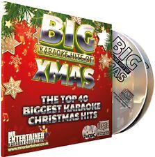 Christmas Karaoke. Mr Entertainer Big Hits Double CD G/cdg Disc Set. Carols