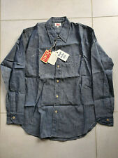 NWT LVC Levi's Vintage Clothing 1920s 2-pkt Sunset Chambray Shirt Made in USA XS