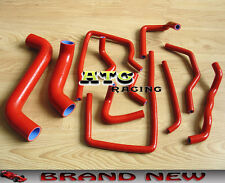 For Subaru Impreza WRX/STi GDA/GDB EJ207 02-07 03 04 05 06 Silicone Hose RED