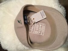 wool hat men's Large Kangol Authentic Beige New Giftable