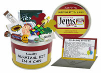 30th BIRTHDAY SURVIVAL KIT IN A CAN Funny Happy Birthday Gift & Card For Him/Her