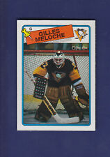 Gilles Meloche 1988-89 O-PEE-CHEE Hockey #8 (NM+)
