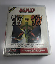 NEW: SPY vs SPY Mad Magazine's Official (First Star Software, 1984) Commodore 64