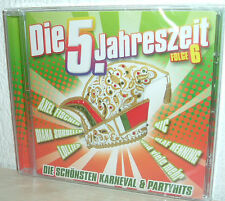 DIE 5 JAHRESZEIT Folge 6  (NEU/OVP)  Die schönsten Karneval & Party Hits uva