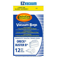 12 Oreck Buster B canister vacuum bags -  PKBB12DW , O- PKBB12DW