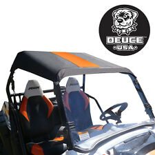 Deuce USA Polaris RZR(2) Soft Top Orange Stripe (2014-2008) 570,800,800s, 900XP
