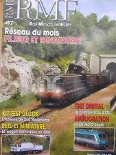 RMF Rail Miniature Flash n°497 2006 - Filisur et Renardiere  [TR.33]