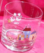 INTERNATIONAL CHINA HEARTLAND TUMBLER ROCK GLASSES 4 8 OZ HOUSES