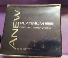 Avon Anew Platinum Night Moisturizing Cream Full Size 1.7 oz Sealed Box ( S-W-3)