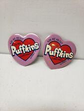 Vintage Puffkins Pinbacks